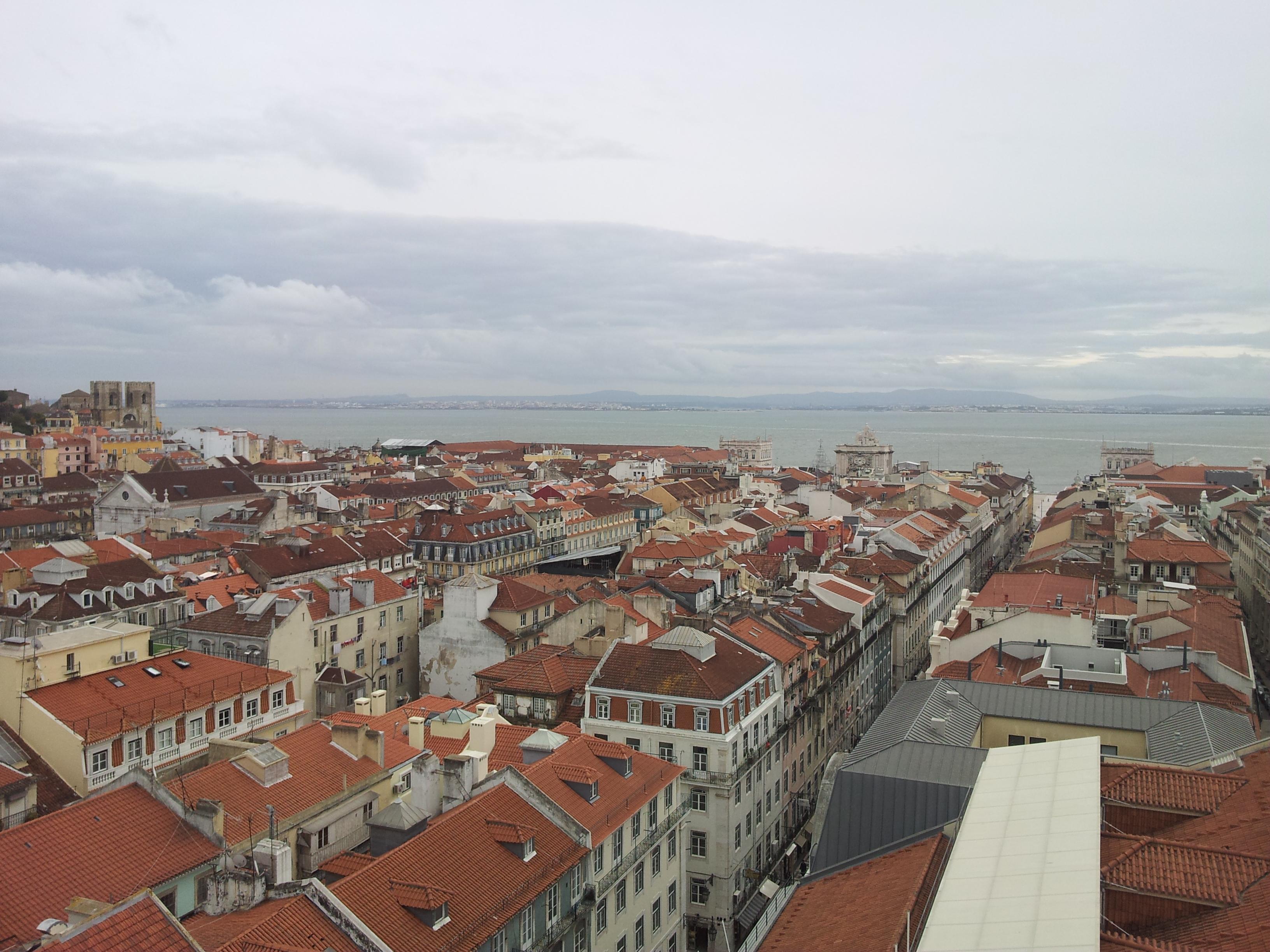 Vista panorâmica Lisboa