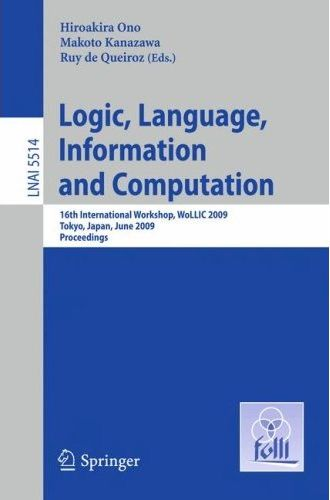 LNCS Proceedings of WoLLIC 2009